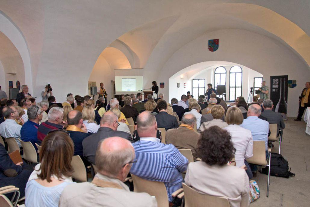 photo of Great Tokaj Wine Auction 2015 auction room Confrerie de Tokaj