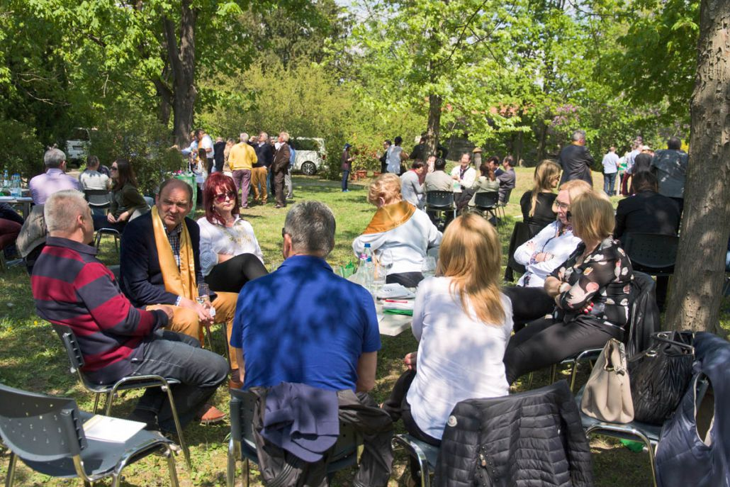 Photo of Great Tokaj Wine Auction 2015 picnic lunch by Anyukám mondta