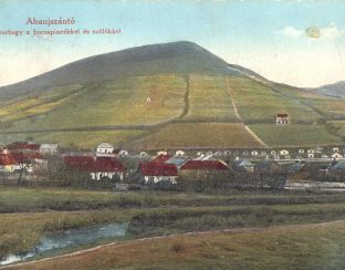 Old postcard of Abaújszántó