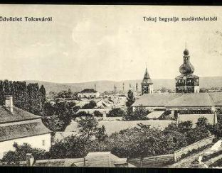 Tolcva old postcard