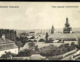 Tolcva old postcard