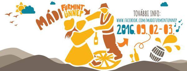 Mádi furmint festival flyer