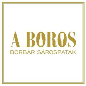 A boros wine bar, Sárospatak logo