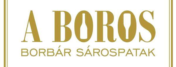 A boros wine bar, Sárospatak logo