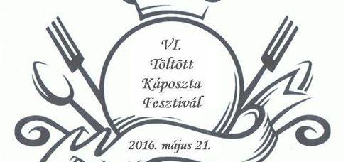 2016 Rátka stuffed cabbage festival logo