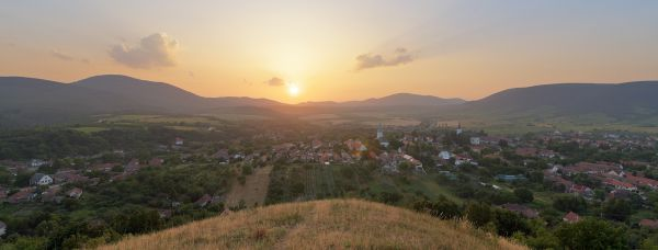 Sunset Erdőbénye, Tokaj Wine Region