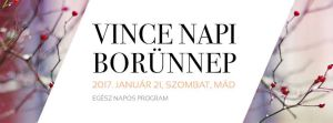 Logo for Vince nap - Vincent's Day, Mád