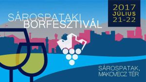 Flyer for Sárospatak Wine Festival