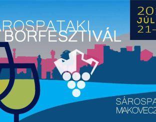 Flyer for Sárospatak Wine Festival