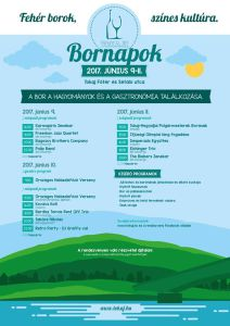 Tokaj wine days June programme
