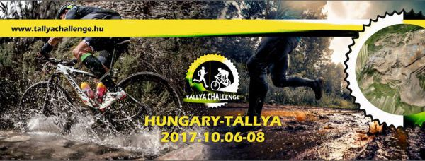 Tállya Challenge flyer