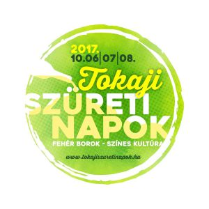 logo for tokaji szureti napok harvest days