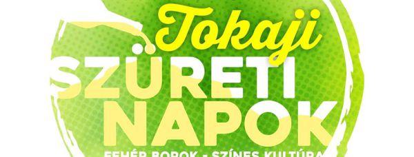logo for tokaji szureti napok harvest days