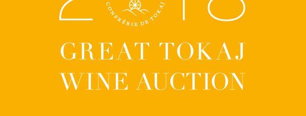 Great Tokaj Wine Auction catalogue